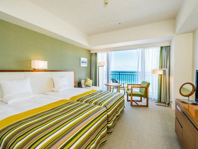 サザンビーチホテル&リゾート沖縄 デラックスハイフロア オーシャン 30平米・8階