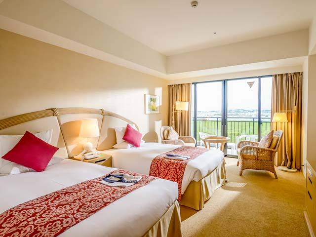 サザンビーチホテル&リゾート沖縄 デラックス ハーバー グランデ 40平米・6階-7階