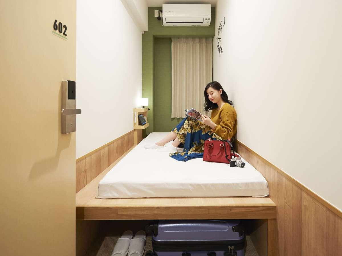 ザ・ポケットホテル 京都四条烏丸 / シングル(女性専用)