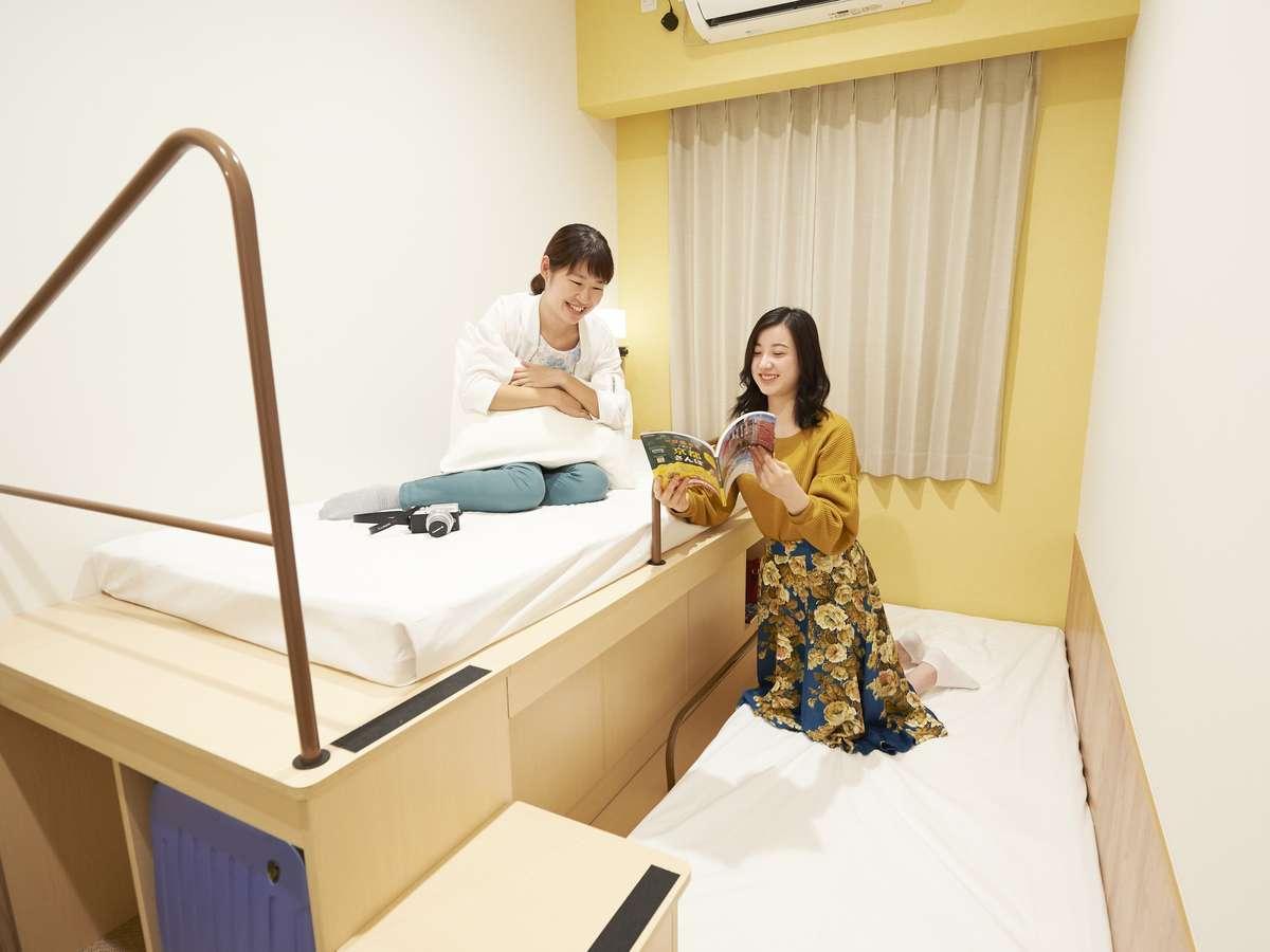 ザ・ポケットホテル 京都四条烏丸 / ステップツイン(女性専用)