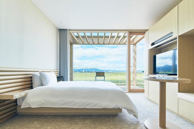 SHONAI HOTEL SUIDEN TERRASSE / ダブルルーム テラス付き庄内平野を望むスイデンビュー・禁煙