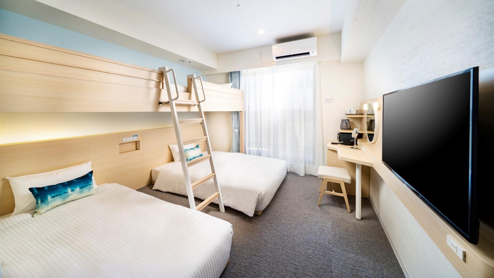 ホテル・トリフィート宮古島リゾート / スーペリアファミリールーム (バルコニー付)