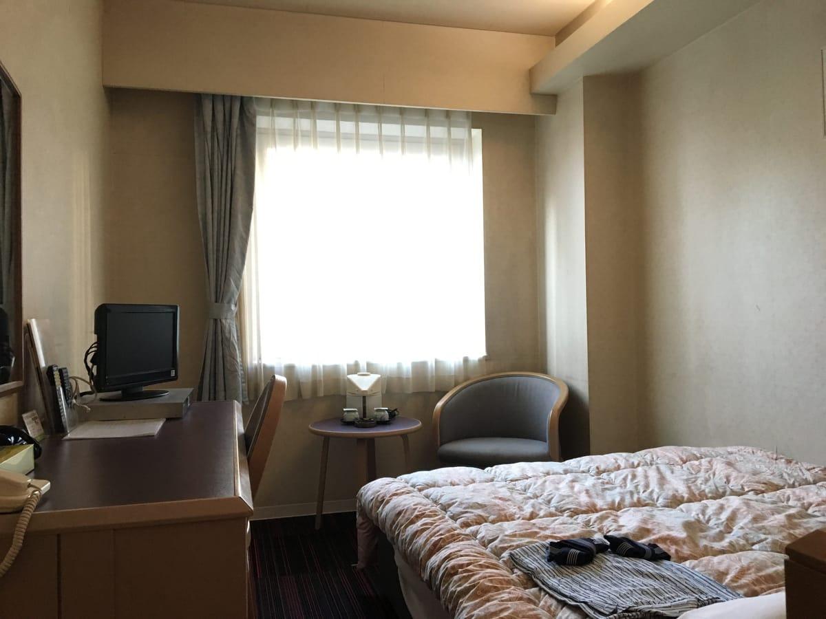 ホテルテトラスピリット札幌 / セミダブルルーム