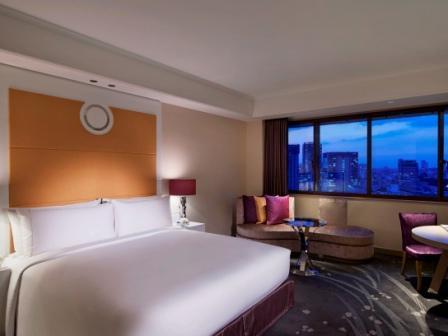 東京マリオットホテル / デラックスキング 高層階 【禁煙】
