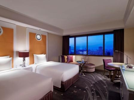 東京マリオットホテル / デラックスツイン 高層階 【禁煙】