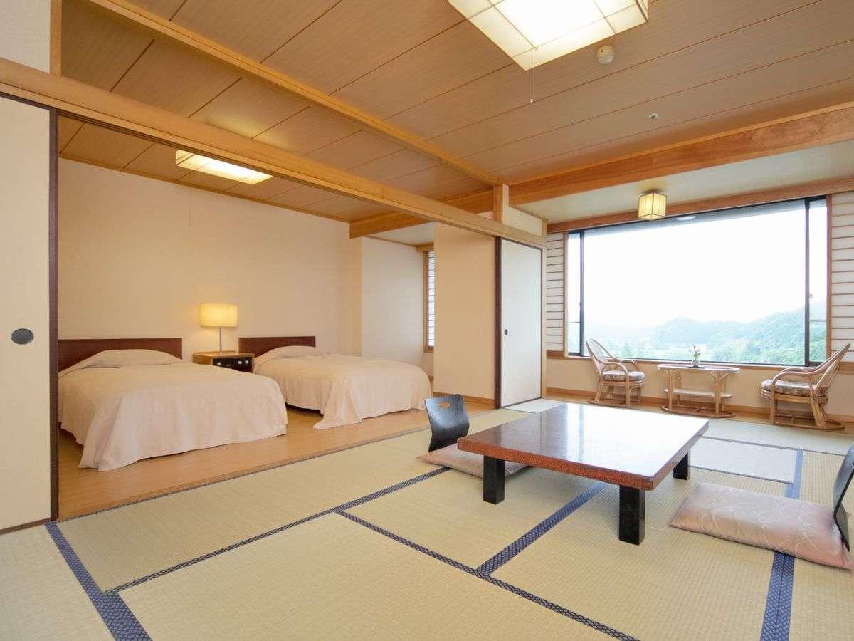 ゆとりの宿 山村別館 / 【山村別館】広々15畳和室または和洋室・ウォシュレット完備