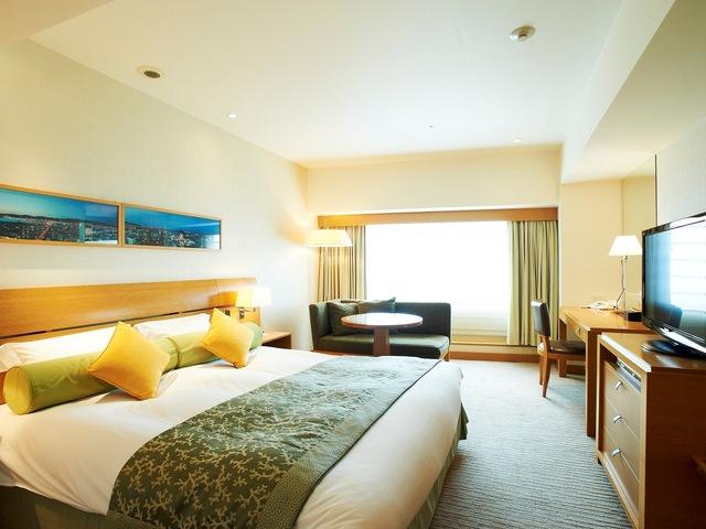 神戸ポートピアホテル 本館25~28階エグゼクティブフロア ダブル 禁煙