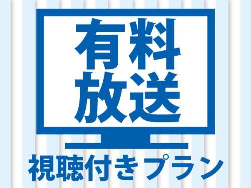 ベッセルイン福山駅北口 / 【有料放送システム変更記念】有料放送視聴付プラン【見放題】