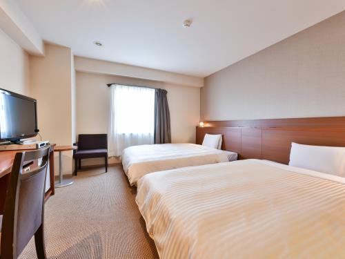 ベッセルホテル都城 / 広々2ベッド【喫煙】★26平米