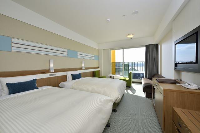 ベッセルホテル カンパーナ沖縄 別館  オーシャンビュースタンダードルーム(5-10階)禁煙