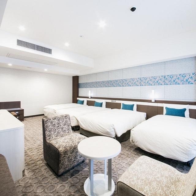 ベッセルホテル カンパーナ沖縄 別館  ファミリールーム禁煙