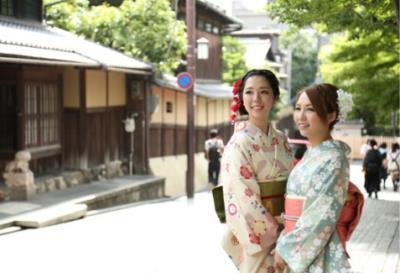 ヴィラージュ京都 / 【レンタル着物】至福の京都体験◆着物で京都散策◆お部屋で朝食(京風弁当)