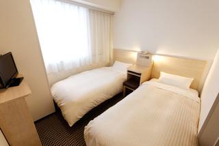 熊本ワシントンホテルプラザ エコノミーツイン 喫煙 1名様利用 【16㎡】