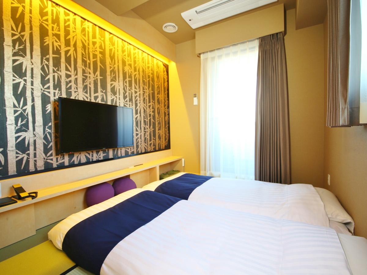 ホテルウィングインターナショナルセレクト浅草駒形 全室禁煙◆禅和室◆14㎡/布団サイズ90㎝