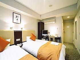 函館リッチホテル五稜郭 / ツイン【禁煙】【全館WiFi無料】