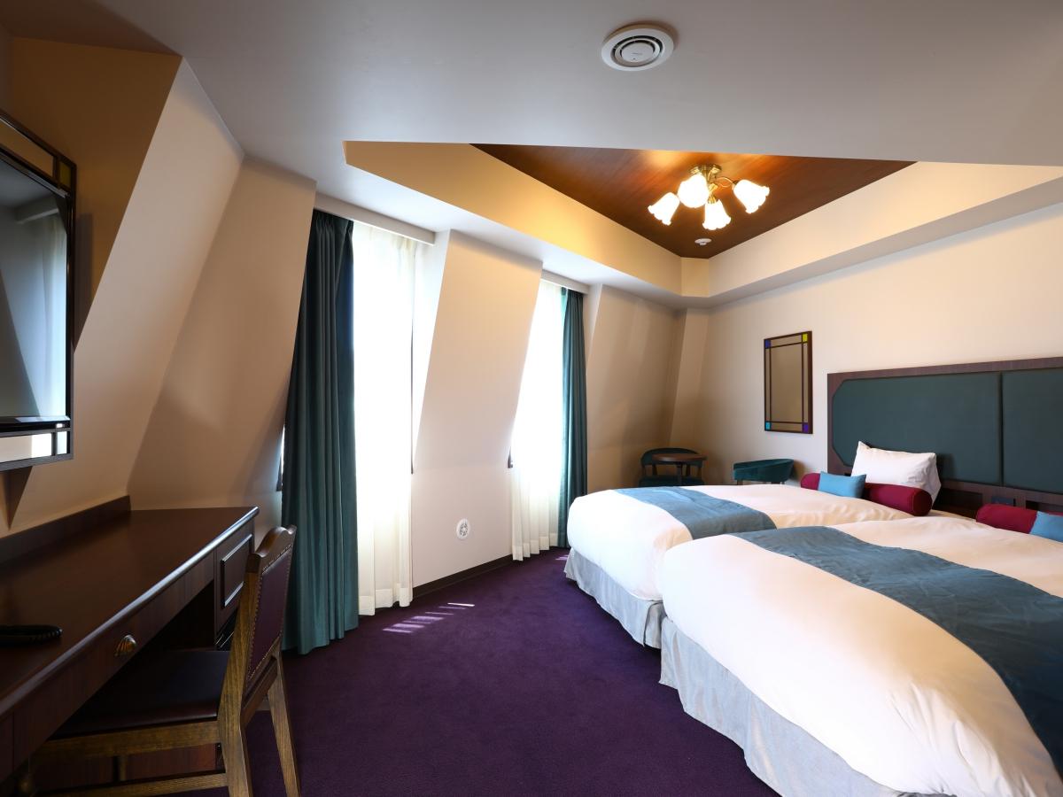 ホテルウィングインターナショナルセレクト池袋(2019年10月4日OPEN) / 【全室禁煙】デラックスツイン/ベッド幅120cm×2/23㎡