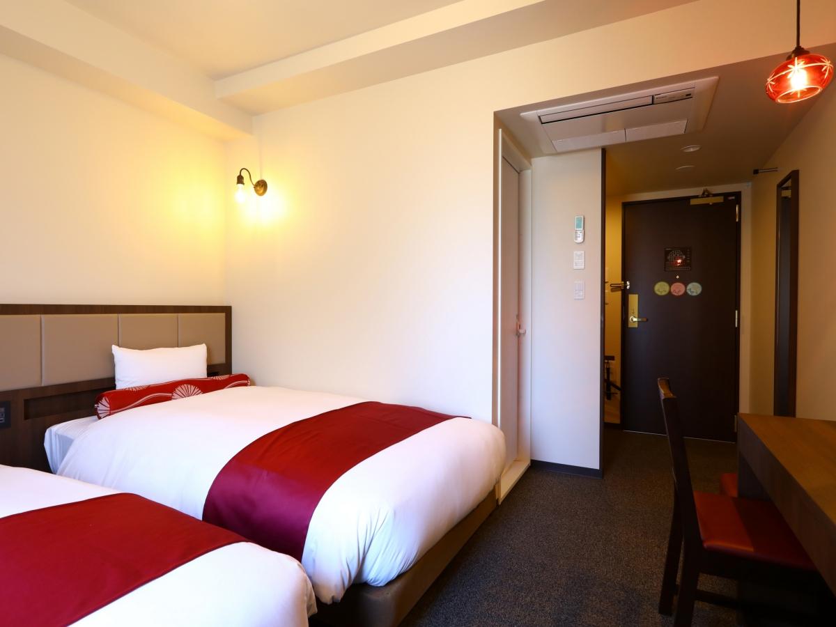 ホテルウィングインターナショナルセレクト池袋(2019年10月4日OPEN) / 【全室禁煙】スタンダードツイン/ベッド幅110cm×2/18㎡