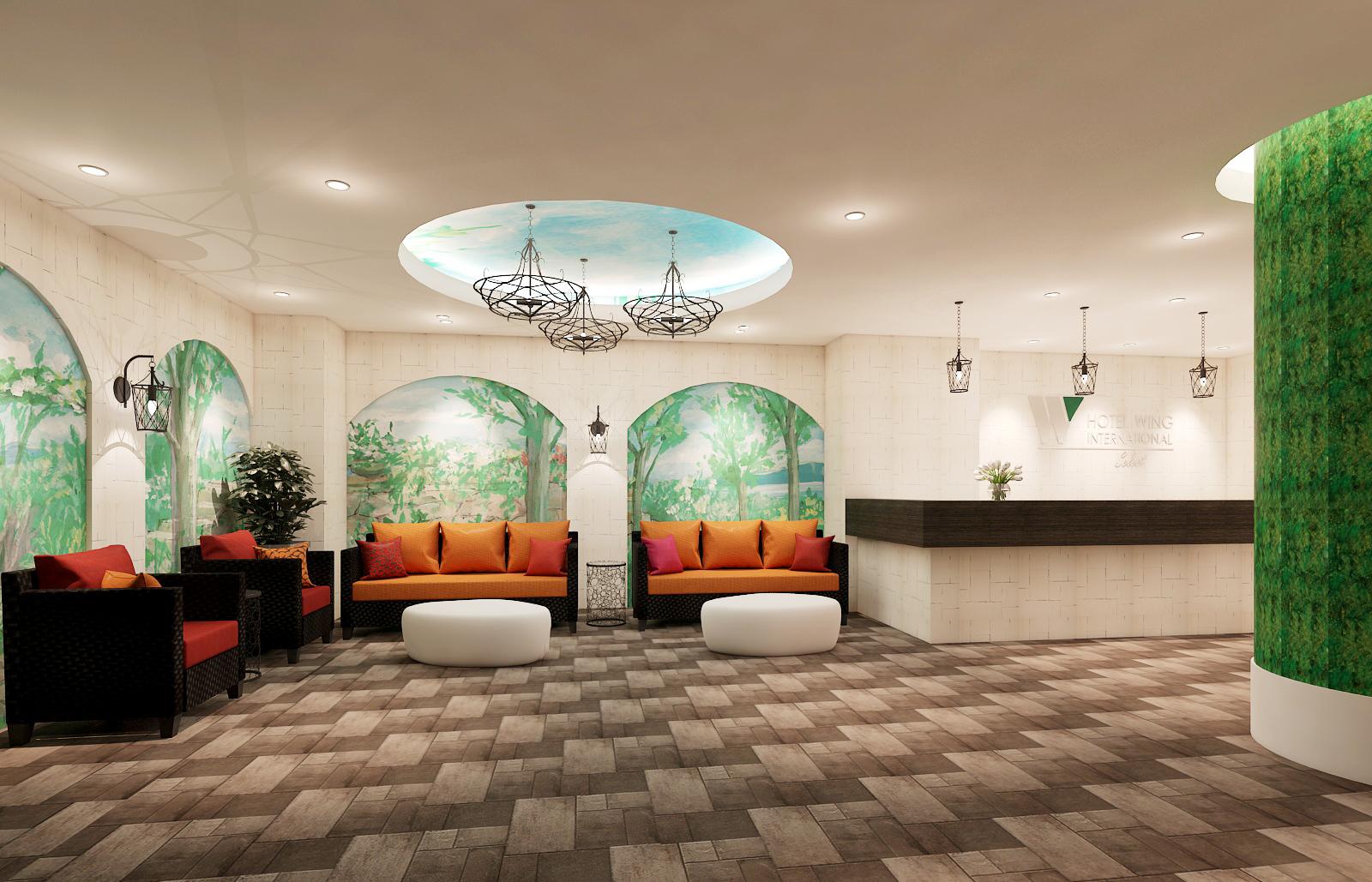 ホテルウィングインターナショナルセレクト名古屋栄 シングルルーム