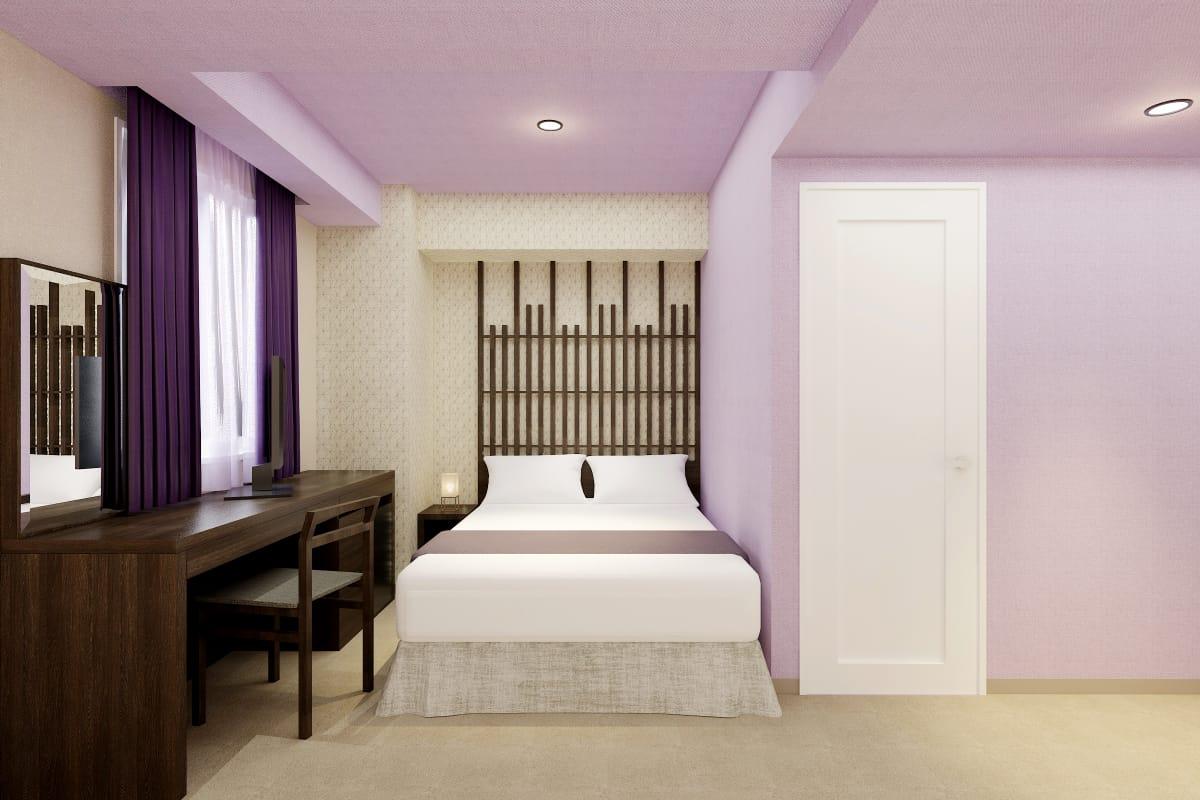 ホテルウィングインターナショナルセレクト名古屋栄 ダブルルーム
