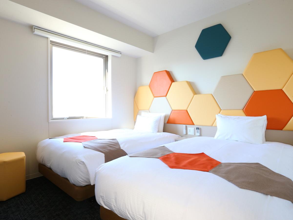 ホテルウィングインターナショナルセレクト東大阪 / ◆喫煙◆ツインルーム【BED幅120cm×2・大浴場完備】