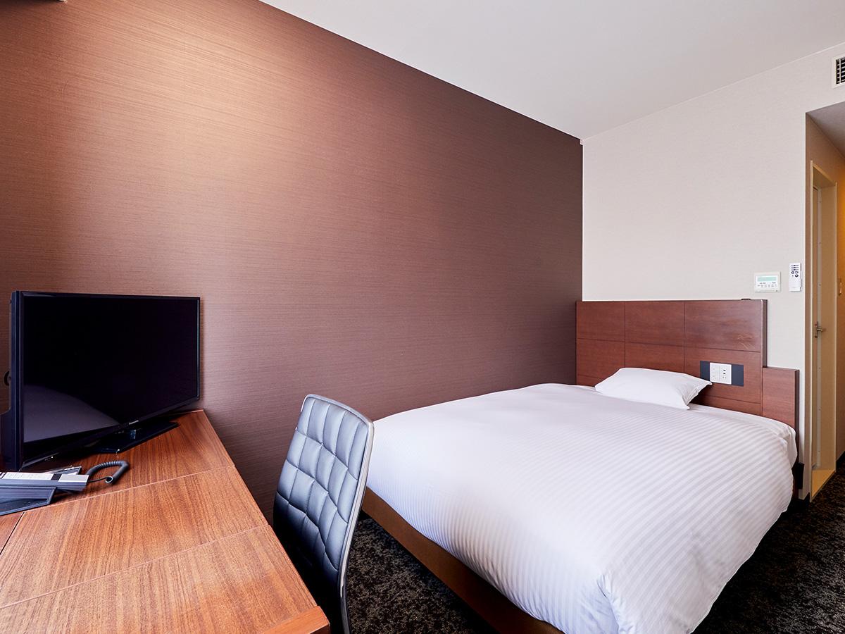 ホテルウィングインターナショナル神戸新長田駅前 / ◆喫煙 シングル【ベッド幅140cm/16㎡】