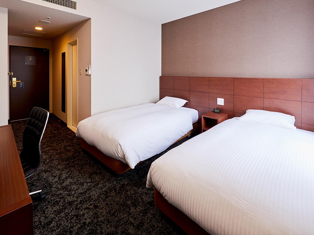 ホテルウィングインターナショナル神戸新長田駅前 / ●喫煙 ツイン【ベッド幅110cm×2台/22㎡/ゆったりバスタブ】