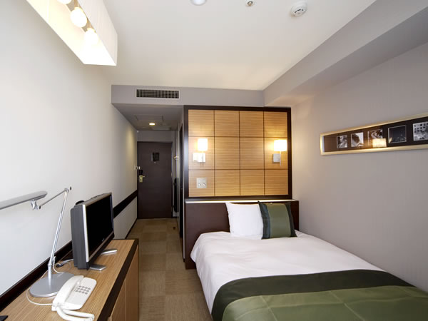 ホテルウィングインターナショナルプレミアム東京四谷 / 喫煙可◆スタンダードシングルルーム【15㎡・ベッド幅140cm】