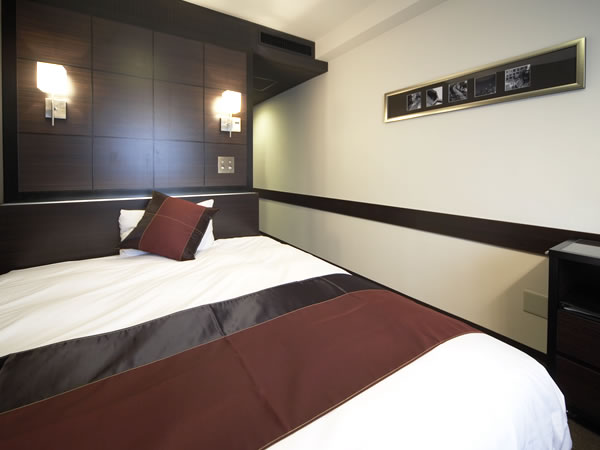 ホテルウィングインターナショナルプレミアム東京四谷 / 喫煙可◆モデレートシングルルーム【16㎡・ベッド幅160cm】
