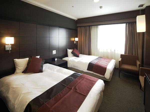 ホテルウィングインターナショナルプレミアム東京四谷 喫煙可◆スーペリアツイン【22㎡・ベッド幅120cm】