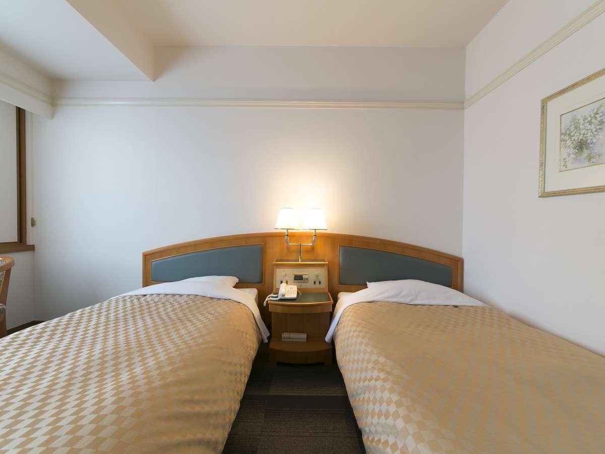 名古屋国際ホテル ツインルーム 禁煙 22㎡ 1名様利用