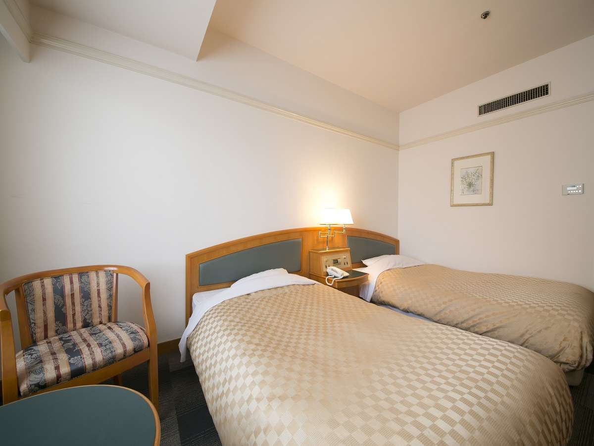 名古屋国際ホテル ツインルーム 喫煙 22㎡ 1名様利用