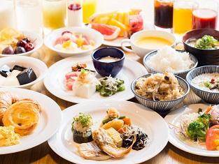 広島ワシントンホテル 【こだわりの朝食バイキング】付♪宿泊プラン
